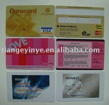 Standard Plastic Business Card