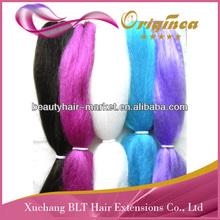 100% kanekalon braid hair, ultra Jumbo braids,wholesale price kanekalon braiding hair