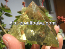 Natural Crystal Citrine Pyramid