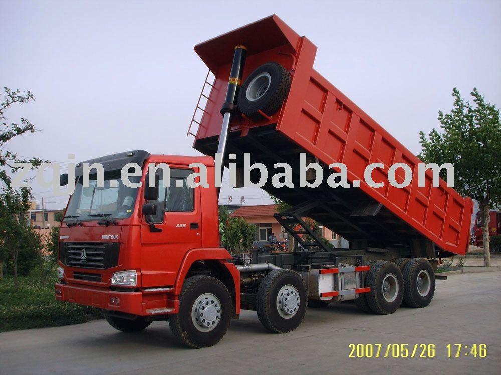 Howo 8x4 30 Tons Dump Truck