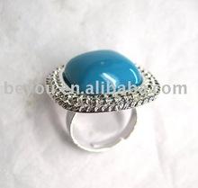 Fashion turquoise stone ring