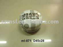 Round Mini Tin Can, Mini Case