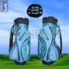 14 Top Dividers Blue Golf Cart Bag