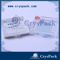 Hot sale sticky plastic crystal waterproof box CPK-S-5510