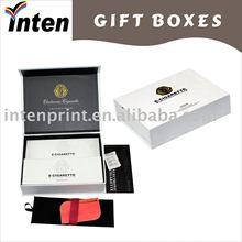 Company brand printing clamshell cosmetic gift box