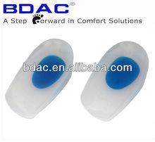 Alta calidad del gel de silicona médica almohadilla del talón