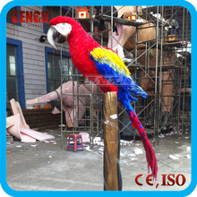 prehistoric life electric animatronic animal of Parrot