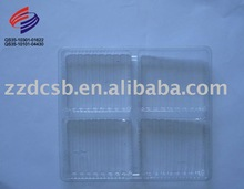 plastic blister compartment tray