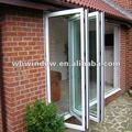 Colore pvc pieghevole porta ( caldo ), interno porta a soffietto, plastica porta a soffietto