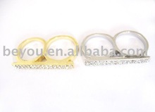Fashion two finger ring