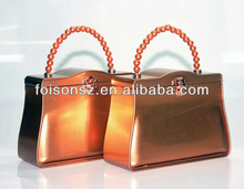 sparkling wholesale metallic golden carry bags for sweets