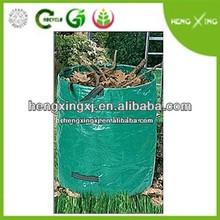 Vertial PP Leaves garden waste bag