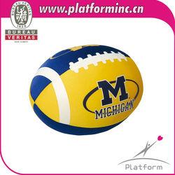 Mirco beads sports Cushion ( Rugby basketball )