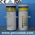 Laboratorio reactivo químico tira de prueba FDA ISO del CE