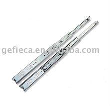 Medium duty drawer slide rail with lock Mechanism
