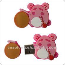 cheap custom handmade soft pvc USB skin,rubber USB cover