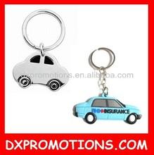 3D custom car shape keychain/car shape metal keychain