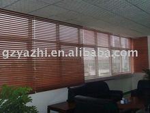 35mm, plegable 50mm linghting con cenefa de madera persianas/persianas/tonos