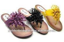 wholesale shoes flat slipper shoes woman 2012
