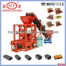 Super low investment high return simple brick machine / QTJ4-26 manual brick making machinery / easy operation brick machine