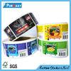 adhesive pvc label sticker printing