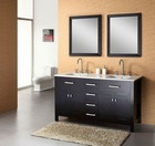Double Bowl Bathroom Vanity Big Size