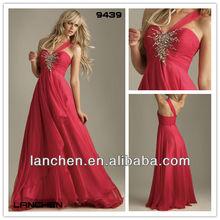 2012 European Designer A-line Dress For Evening #9439