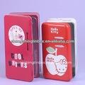 Venda quente do casamento de metal caixa de presente embalagem da caixa da lata do fabricante em dongguan, china