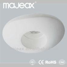 Gypsum Material Gx5.3 GU10 ceiling halogen spotlight