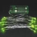 Vert lumière, Lowpower / bas prix lumière, Led décoratif cordes lumière, Batterie propulsé / exploité lumière