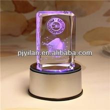 clear crystal 3d craft ,crystal wedding gift ,crystal gift crystal memento wedding gift