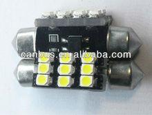 12V 3528 5050 8smd canbus,led lights car interior lamp,led lights car