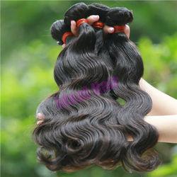 Grade AAA double weft body wave virgin malaysian hair in stock