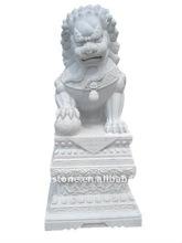Big Garden Stone Lion Statue