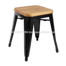 Wooden top bar stool