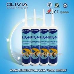 OLV768 Fast Curing Acetic Aquarium Silicone Sealant