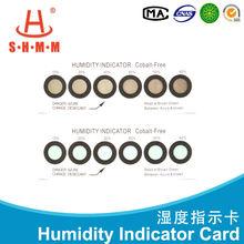 Six Dots Cobalt Free Hygrometer PCB Packing Humidity Indicator Card