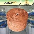 oe industrial poliéster reciclado de algodão misturado fios de afluência