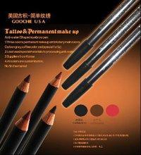 Waterproof Permanent makeup pencil for eyebrow shape