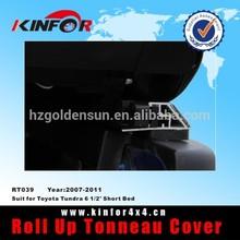 Toyota Tundra Tri-fold Tonneau Cover 6 1/2' Short Bed Model 2007-2011