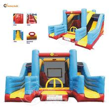 Giant Slide Bouncer-1017 Inflatable Super Slide Bouncer Children Playground Combo