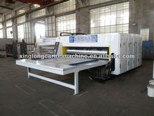 corrugated cardboard packaging machine multi-color printer slotter