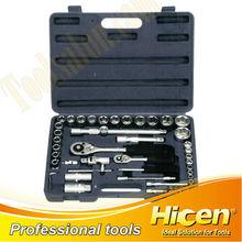 "49pcs 1/4"" & 1/2"" Socket Set, Socket Wrench, High Quality Hand Tools"