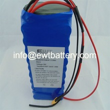 ICR18650 7800mAh 3.7V li-ion battery pack for GPS tracking device