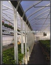 Multi Span Tunnel Plastic Tropical Greenhouse