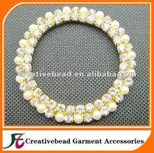Wholesale - Round Diamond Ring/Diamond Buckles/Broach for chair sash\chair band\wedding decoration