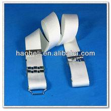 57mm military belt made of nylon webbing,nylon belt with buckle