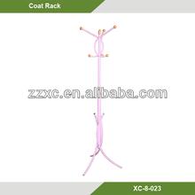Colorful Metal Coat Tree /Standing Coat Rack/Coat hanger/modern suit valet stand XC-8-023