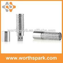 4gb jewelry cylindrical cap usb memory