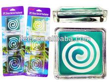 2014 New Glass Gel Air Fresheners,Crystal Aroma,Ambientadoe Air Refresh